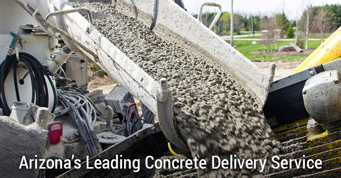 Concrete Delivery Company in Mesa Arizona